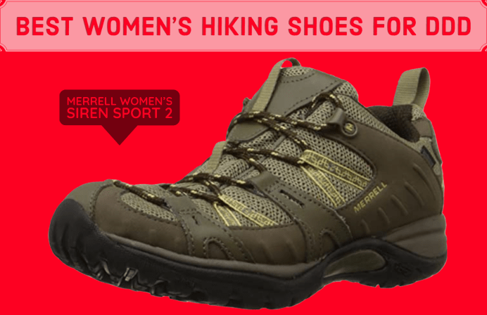 best womens hiking shoes for degenerative disk disease