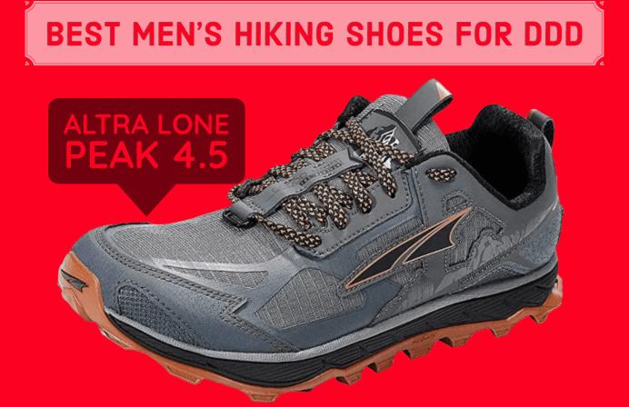 best hiking shoes for degenerative disk disease
