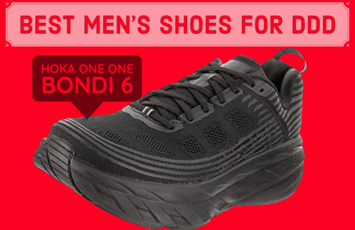 best mens shoes for degenerative disk diseases