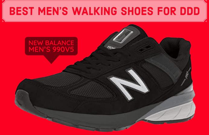 best mens walking shoes for degenerative disk disease